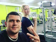 Тренировка с Людмилой