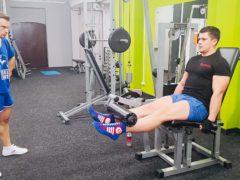 Тренировка квадрицепсов