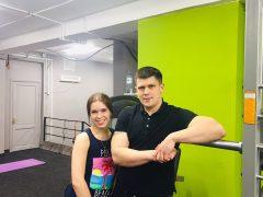 Тренировка с Екатериной Новиковой