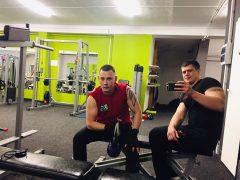 Тренировка с Никитой