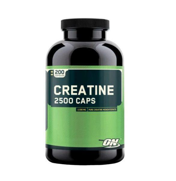 Креатин Optimum Nutrition Creatine 2500 Caps (200 капсул)