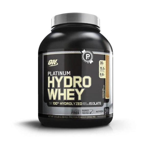 Протеин гидролизат Optimum Nutrition Platinum Hydro Whey (1590г)