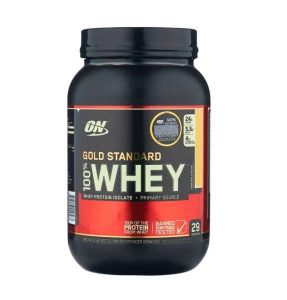Сывороточный протеин Optimum Nutrition 100% Whey Gold Standard (900г)