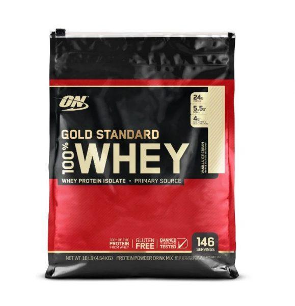 Сывороточный изолят Optimum Nutrition 100% Whey Gold Standard (4700г)
