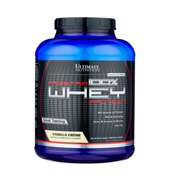 Сывороточный протеин Ultimate Nutrition Prostar 100% Whey Protein (2270г)