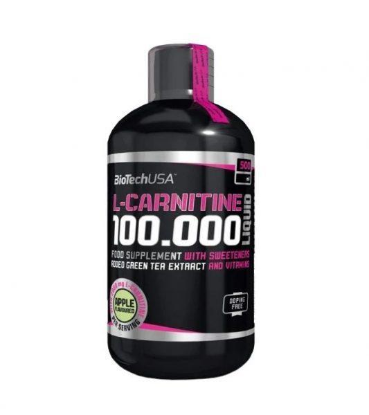 BioTechUSA L-карнитин 100.000 (500 мл)