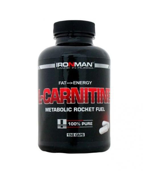 IRONMAN L-карнитин (150 шт.)