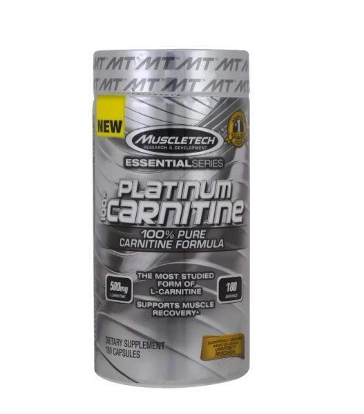 MuscleTech L-карнитин Platinum Essential Series (180 шт.)